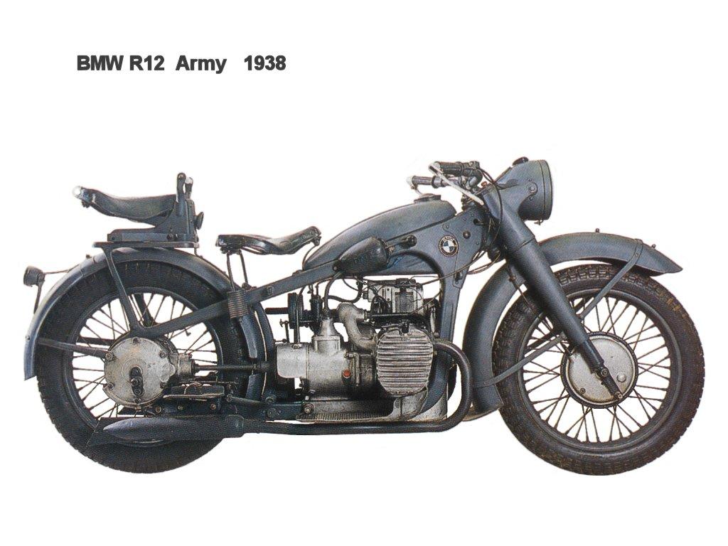 Sekarang mari kita lihat penggunaan bmw r12 saat perang oleh prajurit