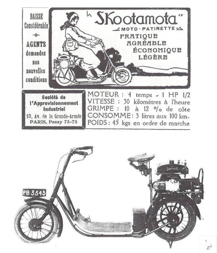 ABC Skootamota, mbahnya skuter modern! Honda XL125 replica