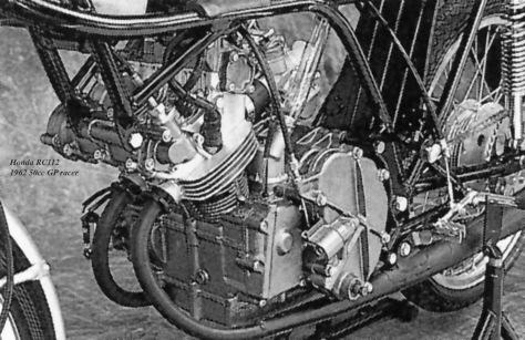 RC112, 1962, engine 1