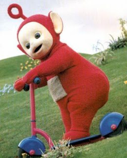 Teletubbies Skuter