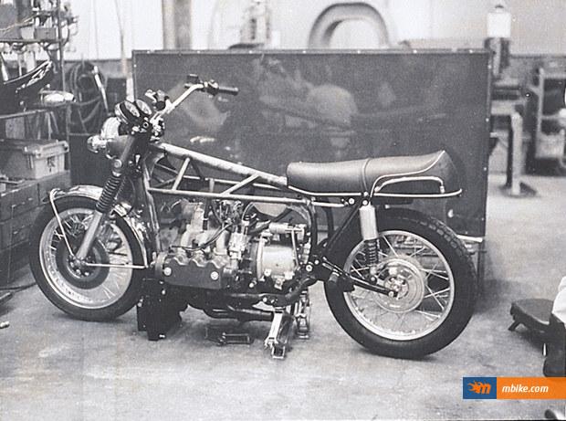 1972 Honda Goldwing prototype M1