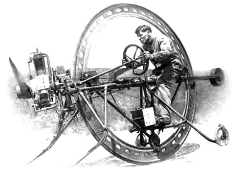 Alfred-E-D-Harlingue-Monowheel