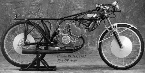 Honda RC113, twin 50cc .1964 racer-1