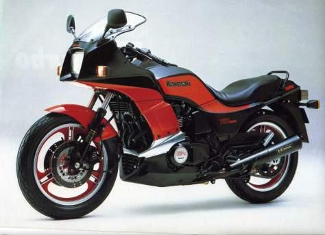Kawasaki GPZ750 Turbo  3