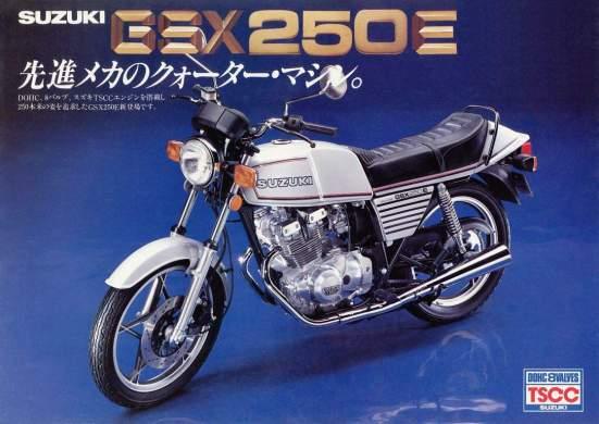 Suzuki GSX 250E
