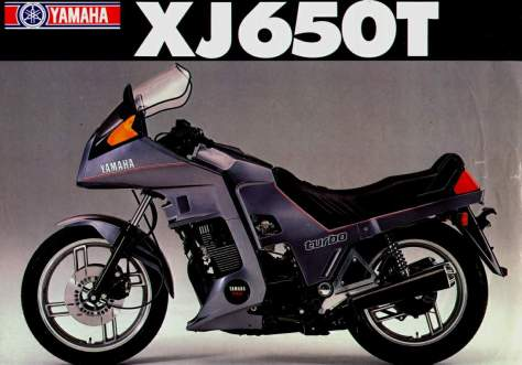 Yamaha XJ650 Turbo  4