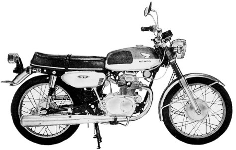 CB175 Super Sport 175 (early)