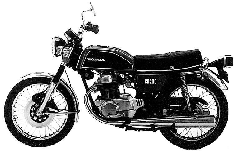Beberapa produk Twin 125-250cc Honda yang melegenda ...