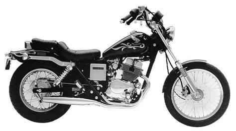 1986 CMX250CD Rebel 250 Limited