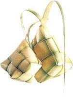 ketupat bawang
