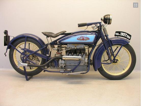 Cleveland 750cc 1927 4 cylinder 4-45 model