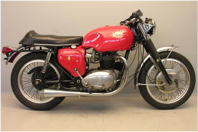 Spitfire 650cc 2cyl