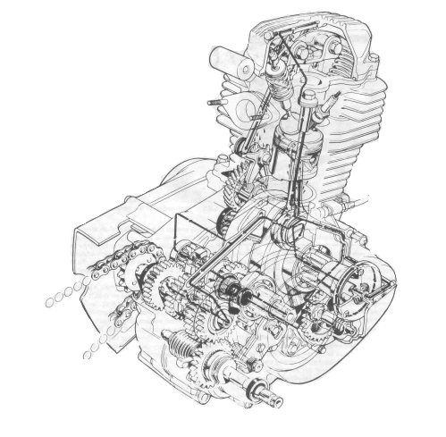 Motor Honda Tiger Scag Tiger Wiring Diagram ~ Odicis