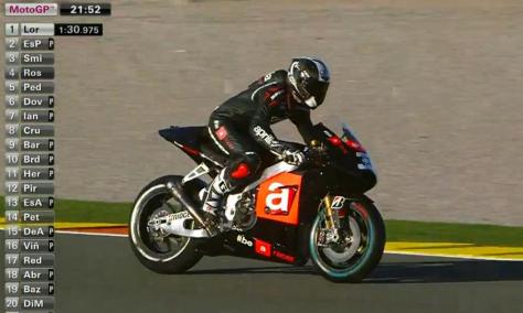 Marco melandri #33 in action!