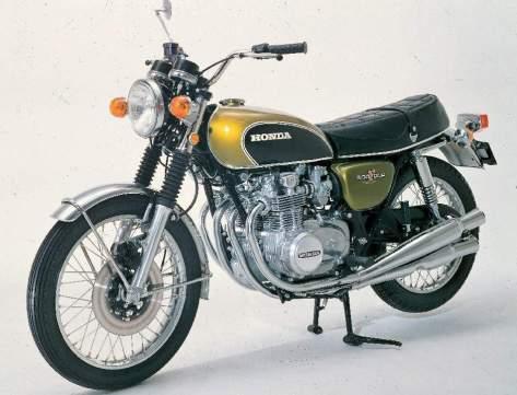 Honda CB500 Four 71