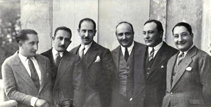 Antonio ('Tonino'), Francesco, Giovanni, Guiseppe, Filippo, Domenico