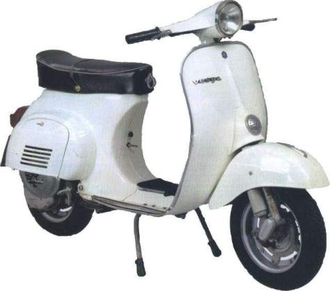 Vespa 125 Primavera, 1968