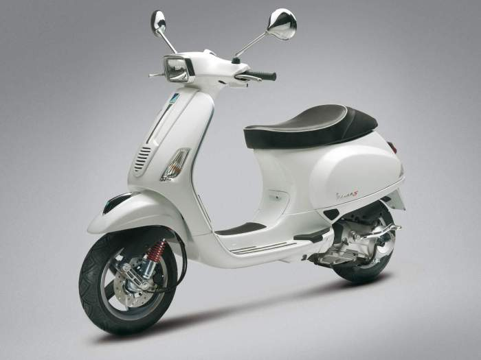 Vespa S 125, 2007