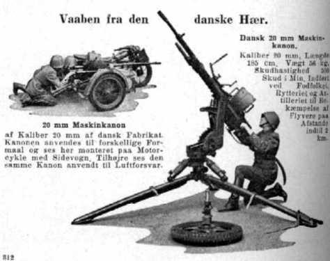 Nimbus dengan 20mm Madsen