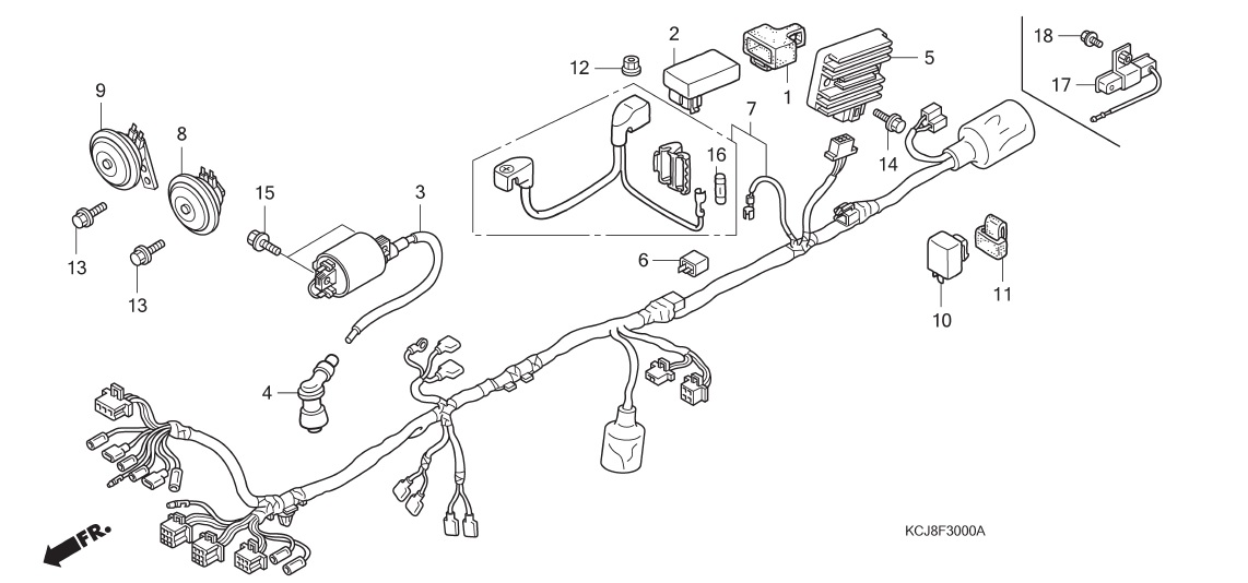 Wiring diagram honda tiger honda xl125 replica image cheapraybanclubmaster Image collections