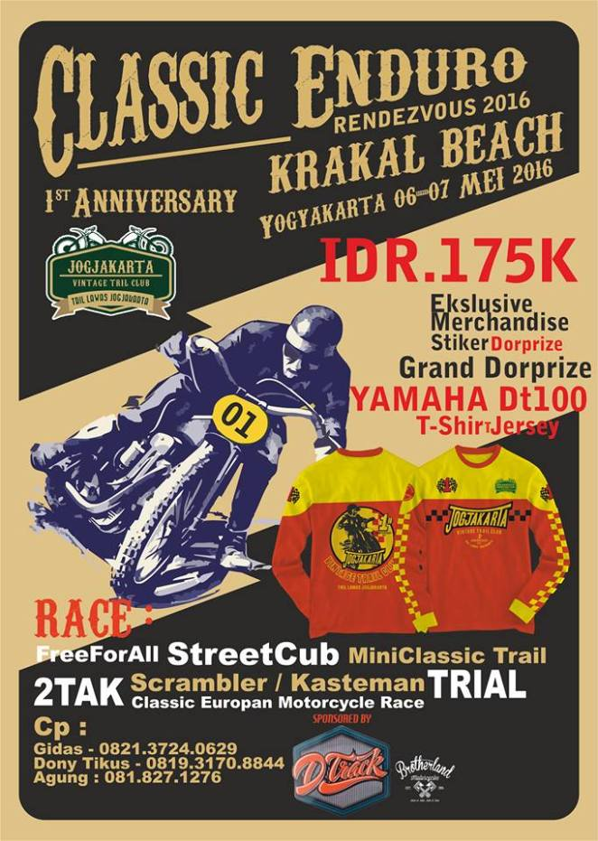 event trail tua JVTC