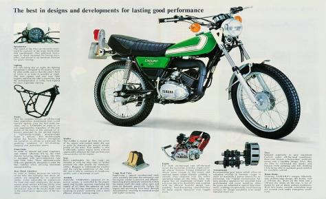 Yamaha DT 100 UK