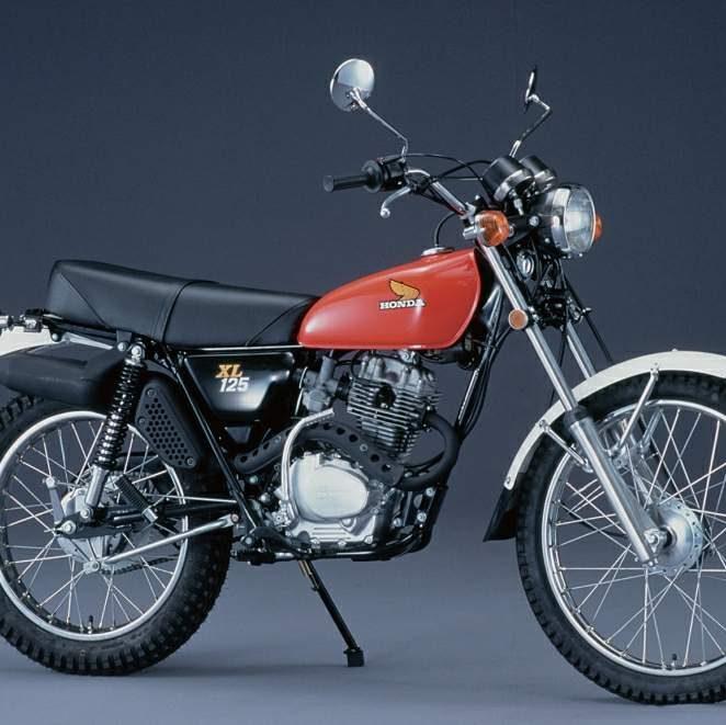Honda XL125 imitasi